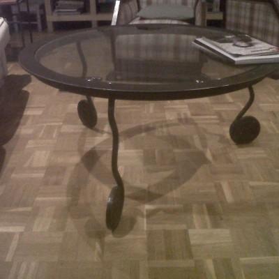 Mesa redonda – Artes Metálicas