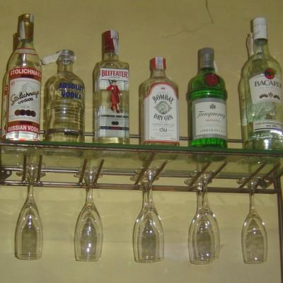 Soporte de botellas – Artes Metálicas