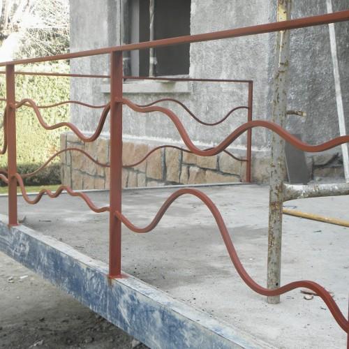Imprimación de la barandilla – Artes Metálicas