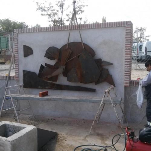 Escultura Lavandera – Artes Metálicas