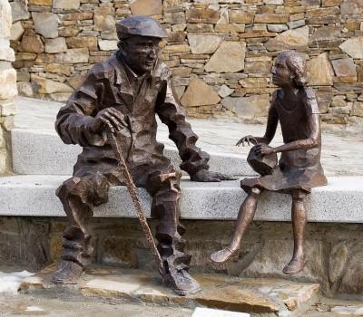 Sabiduría del abuelo(Garganta de los Montes 2010) – Artes Metálicas