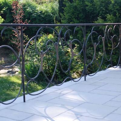 Barandilla de terraza – Artes Metálicas