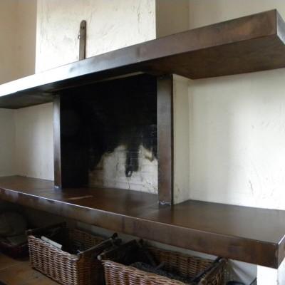 Protección chimenea – Artes Metálicas