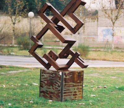 Laberinto en el espacio (Madrid 1991) – Artes Metálicas